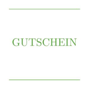 Grußkarte mit GUTSCHEIN